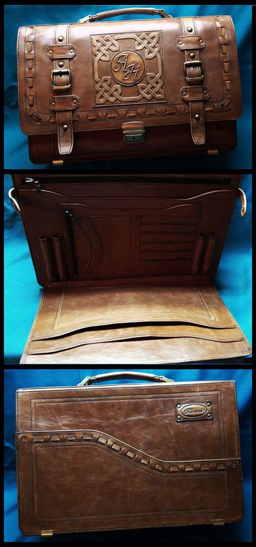 "Exclusive leather briefcase ""MONOGRAM"" made by ""Furmani""/Эксклюзивный кожаный портфель ""МОНОГРАММА"", созданный ""Furmani"". See more on Facebook: https://www.facebook.com/groups/furmani/ Contacts for orders E-mail: furmani.exclusive@gmail.com Viber/Whatsapp: +380683835478  #furmani #leathergoods #leatheraccessories #leatherbriefcase #mensbag #leather #leatherwork #fashiondesign #fashiondaily #style #fashion #кожаныйпортфель #мужскаясумка #кожа #работаскожей #стиль #мода #стильные вещи"
