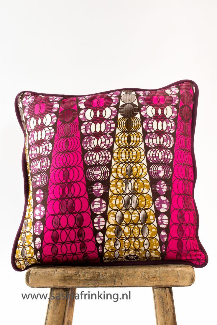 cushion African print