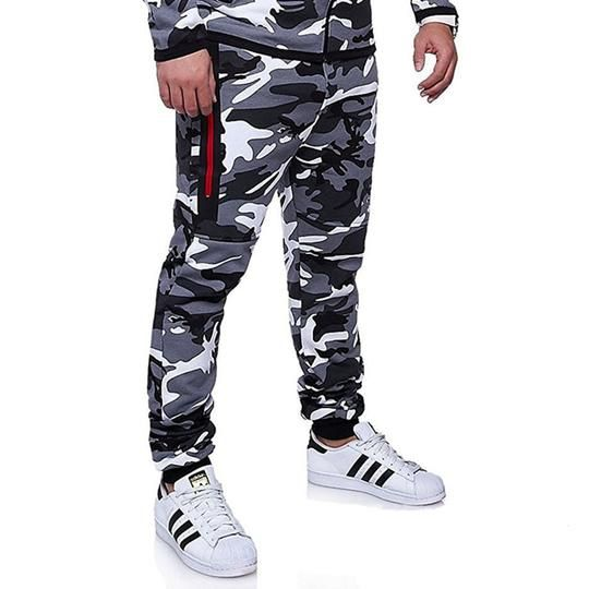 New Males's Informal Camo Pants Cotton Chino Jogger Pants Man Fitted Hint Twill Pants Male Camouflage Trousers 3XL