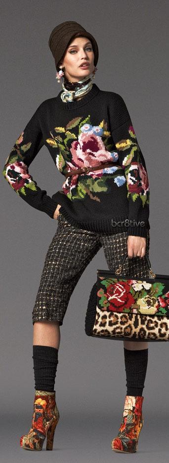 Dolce Gabbana Baroque Collection FW 2012