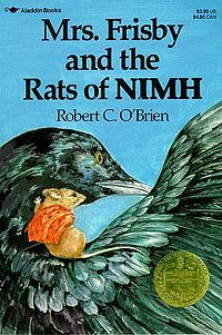 Mrs. Frisby and the Rats of NIMH by Robert C. O'Brien: Worth Reading, Frisbi, Books Jackets, O' Brien, Books Worth, Kids,  Dust Covers, Children Books, Rats