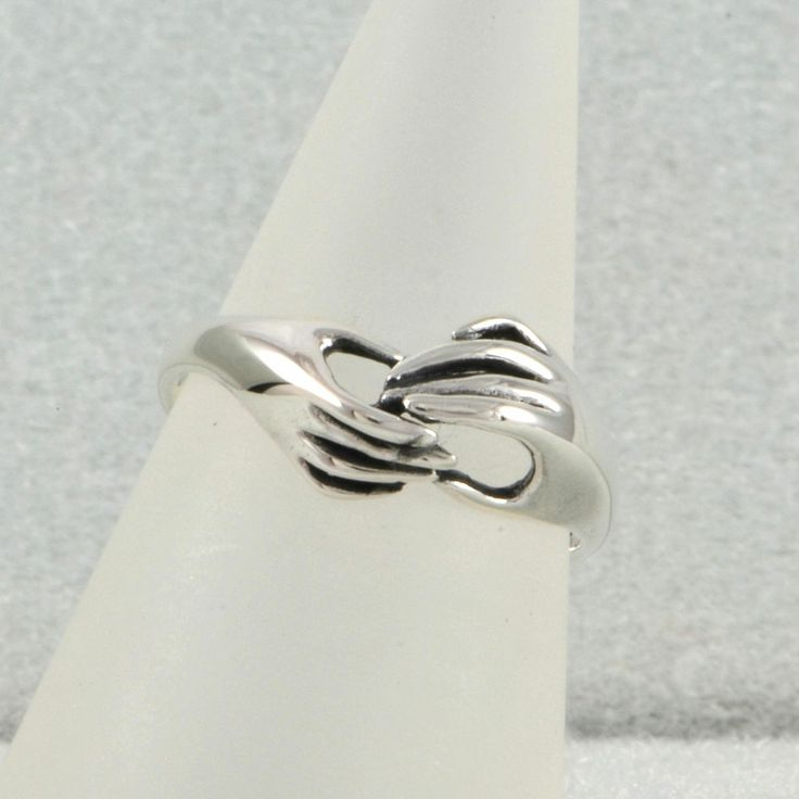 James avery, Hand in hand and Ring sizes on Pinterest
