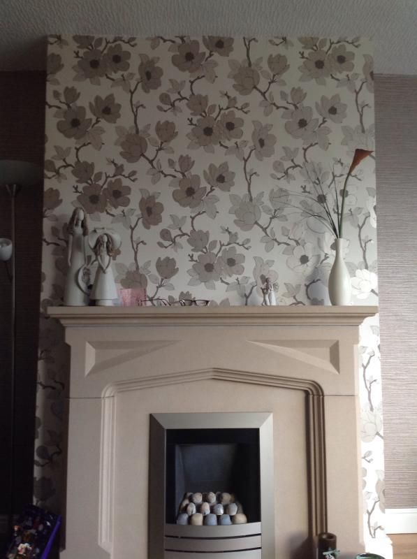 Living room wallpaper ideas b q for Living room ideas b q