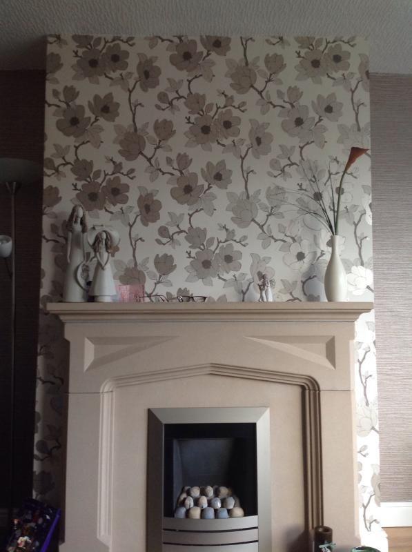 Graham Brown Elinor Cream Floral Wallpaper
