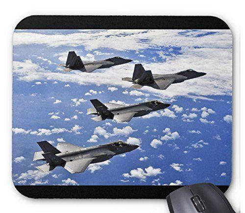 ステルス戦闘機 F-35 のマウスパッド:フォトパッド(世界の戦闘機シリーズ) (D)