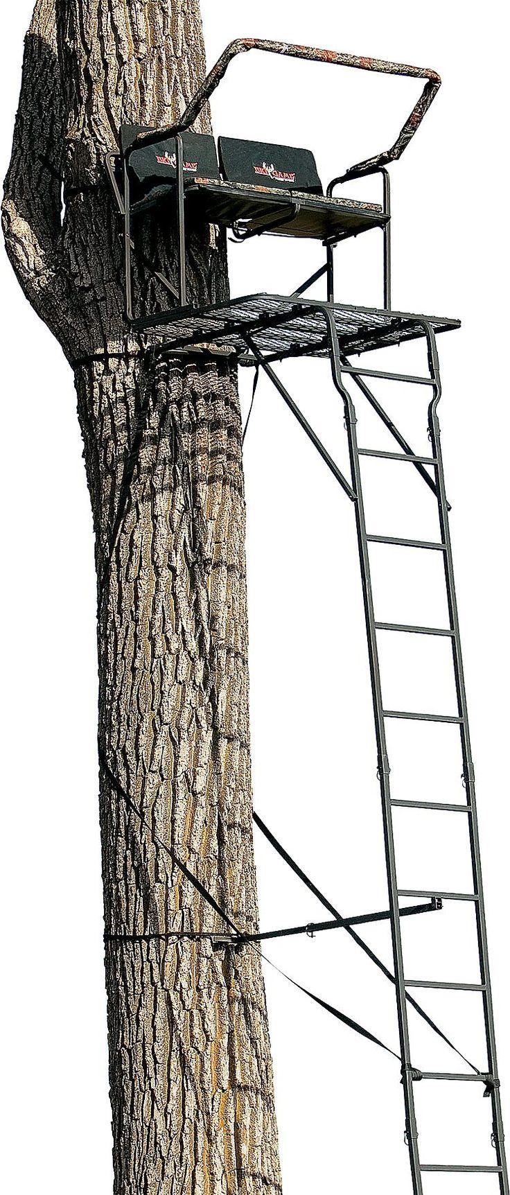 Big Game Treestands Partner Pro 2 Person Ladder Stand