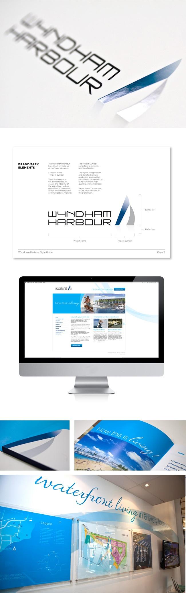Wyndham Harbour - Brand & marketing campaign