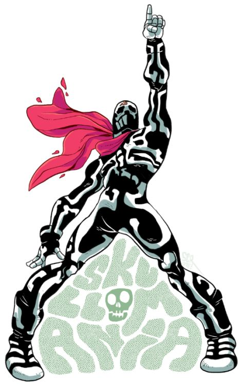 hey, remember SKULLOMANIA?? what a cool tokusatsu-ass dude! i miss street fighter EX!!
