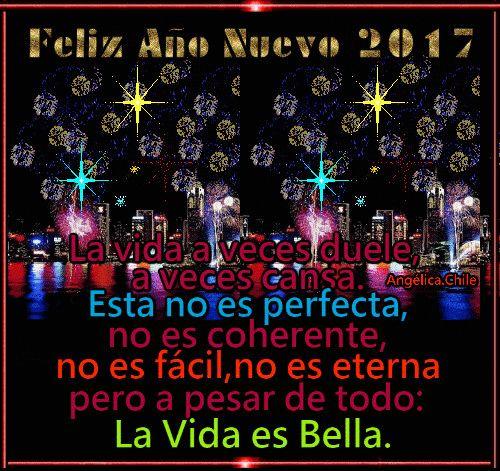 SUEÑOS DE AMOR Y MAGIA: Feliz año nuevo 2017