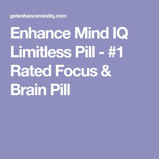 Enhance Mind IQ Limitless Pill - #1 Rated Focus & Brain Pill