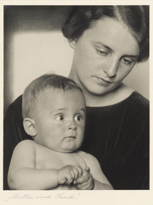 Rudolf Koppitz, Mutter und Kind, 1925-32, Fotografie © Wien Museum