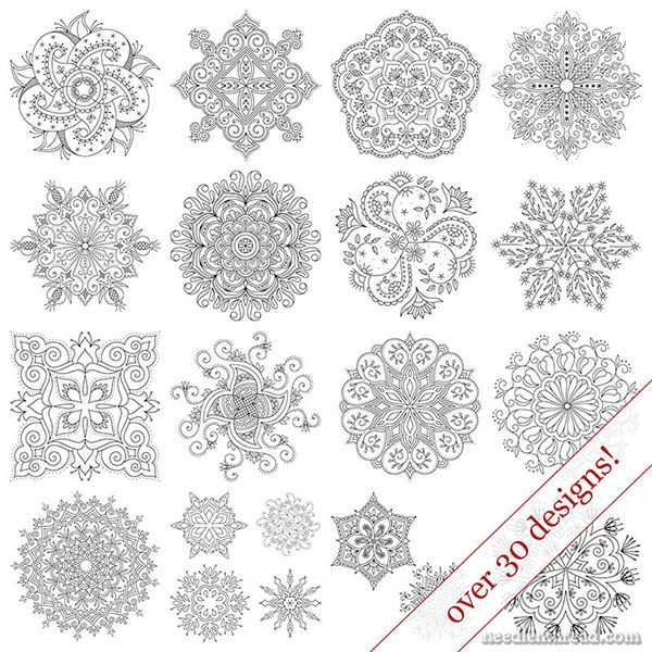 Favorite Kaleidoscope Embroidery Patterns – Reader Special – NeedlenThread.com