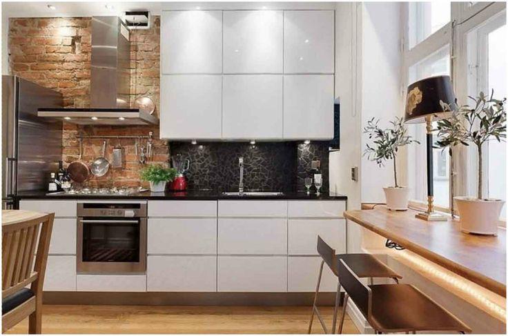 Подоконник-столешница в интерьере кухни