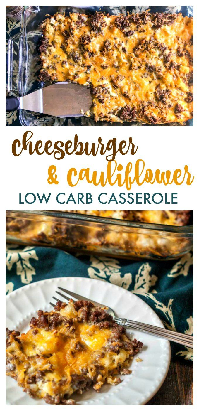 Low Carb Cheeseburger Cauliflower Cauliflower Recipe Keto