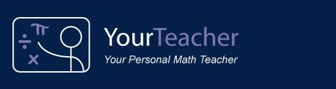 Get the Math Help you need from Your Personal Math Teacher... BEST pre-algebra, algebra, and geometry apps!!  Kids are getting it!!!