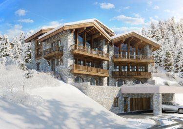 Stunning Ski Chalet for Sale in Espace Killy in the French Alps #frenchalps #skiing #chalet #skichalet #property #investment #forsale