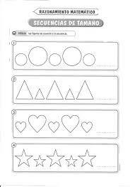 Resultado de imagen para actividades de patrones para niños