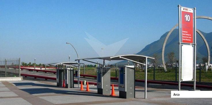 Beneficio y comodidad para sus clientes.- Velarium. #sol #proteccion #comercial #estructuras #shadeports