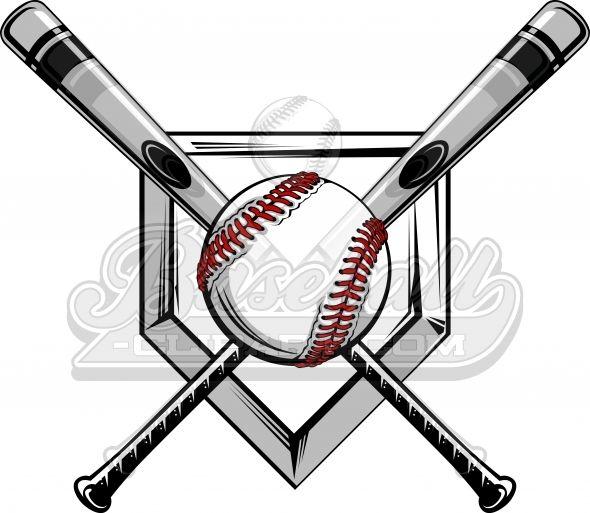 Baseball bat brand logo