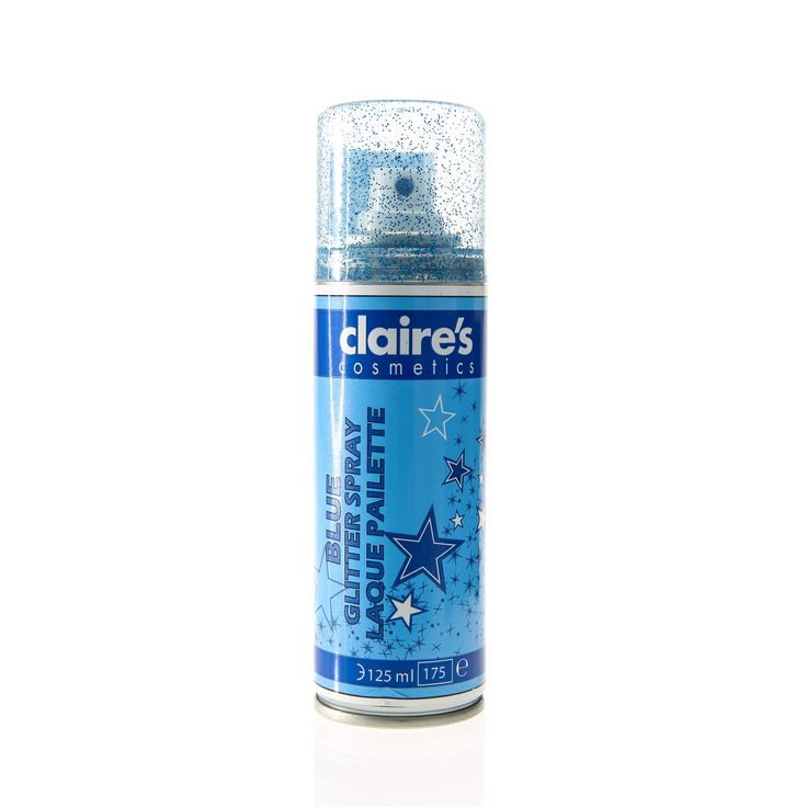 Attractive Where Can I Buy Hair Spray Paint Part - 12: Blue Glitter Hair Spray. #Claires #BeatTheBlues