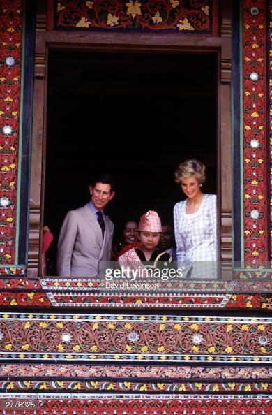NOVEMBER 6 1989 Charles and Diana at Taman Mini, Jakarta,