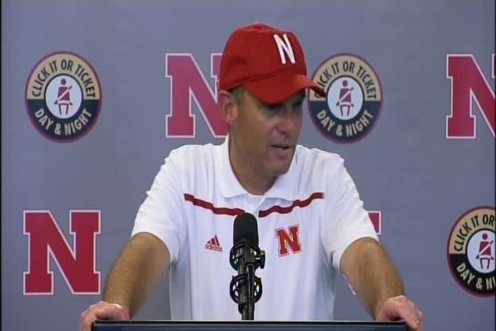 Nebraska football head coach Mike Riley addresses the media following Nebraska's 36-28 win against Southern Miss. Coach Riley points out missed opportunities, reflects on Andy Janovich's career day, and talks about inconsistencies in the running game.