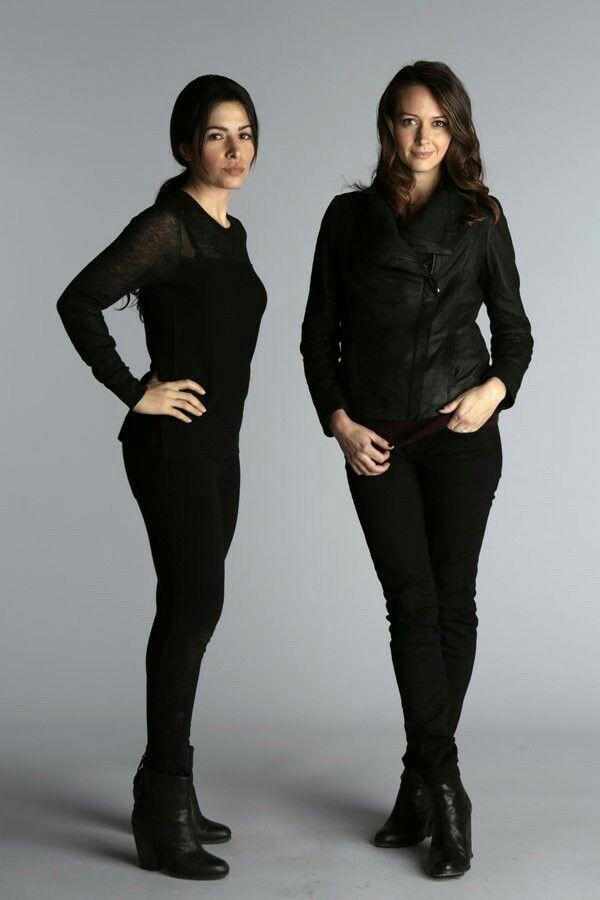 Sarah Shahi(Shaw) & Amy Acker (Root) =Shoot