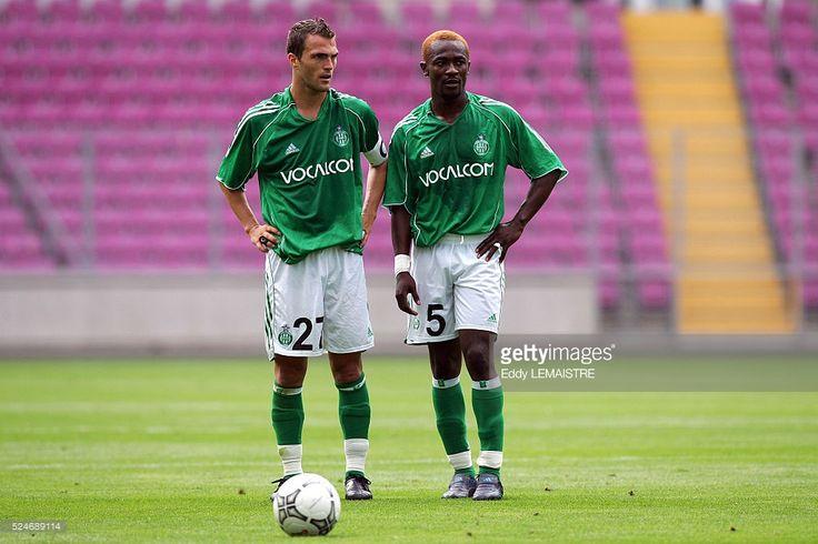 Julien Sable et Didier Zokora