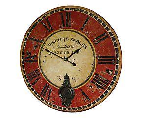 17 meilleures images propos de horloge sur pinterest horloge toile et palettes en bois. Black Bedroom Furniture Sets. Home Design Ideas