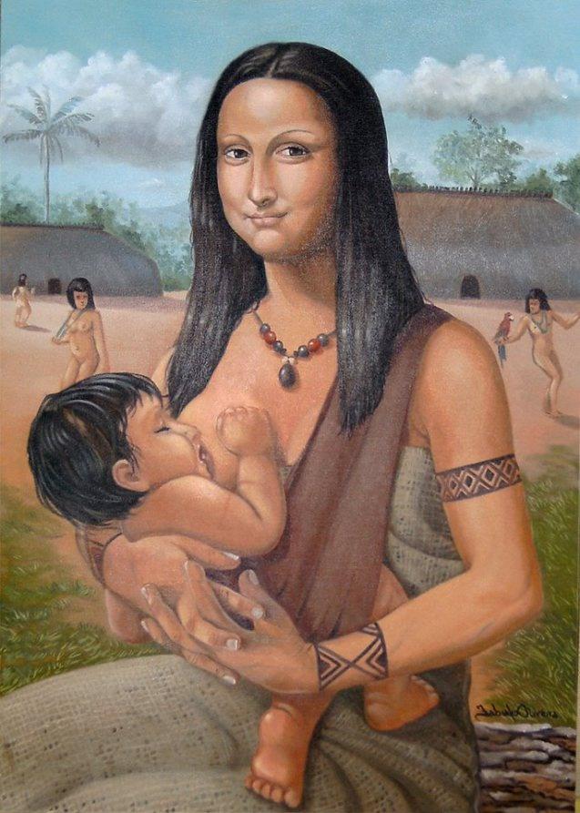 0330 [Fabiano Oliveira] Mãe Mona indígena