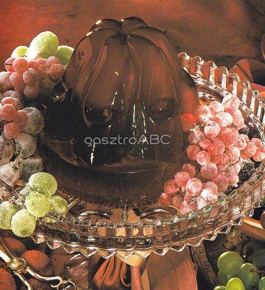 Vörösboros zselé cukrozott gyümölccsel | Receptek