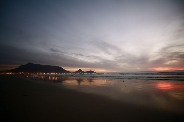 Cape town. Bloubergstrand
