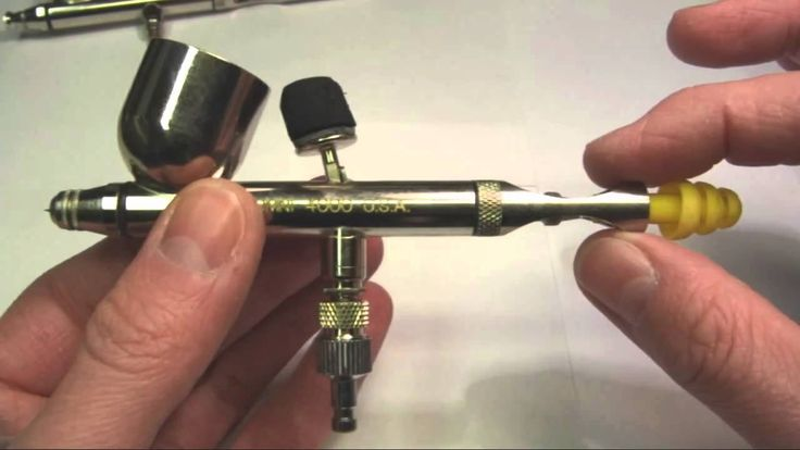 Tuning your airbrush for detail work and better performance - This is a short video explaining the method I use to enhance my airbrushes for finer detail work and more comfortable performance. The airbrush used in this video is the Thayer & Chandler Omni 4000.
