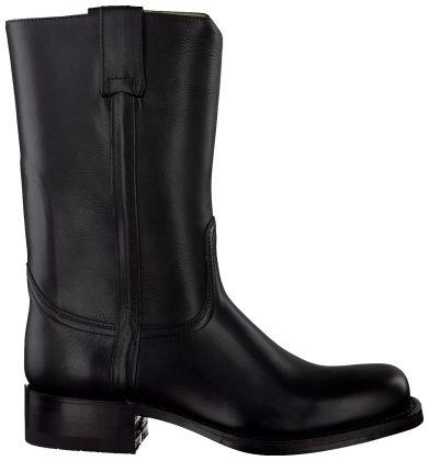 Zwarte Sendra Korte laarzen 3165