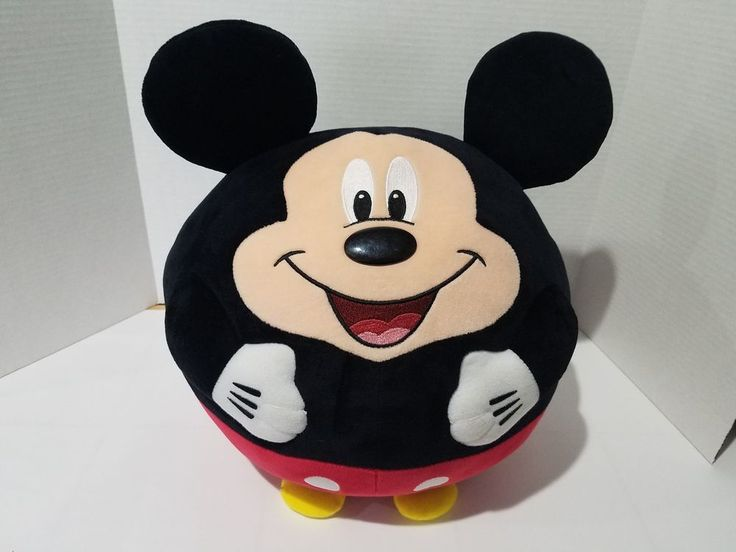 Ty Beanie Ballz Mickey Mouse Plush, Large #Ty