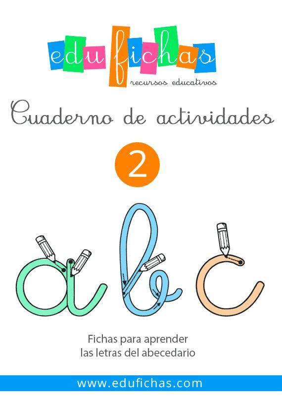 Cuadernillo en PDF de las letras del abecedario #preescolar #pdf http://edufichas.com/descargas/cuadernillo-de-las-letras/