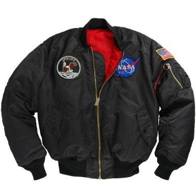 Amazon.com: Apollo Ma-1 Flight Jacket: Clothing
