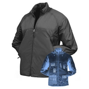 $74.99 Thinkgeek.com Personal Area Network Pack Windbreaker - inner secret pockets for all your gadgets