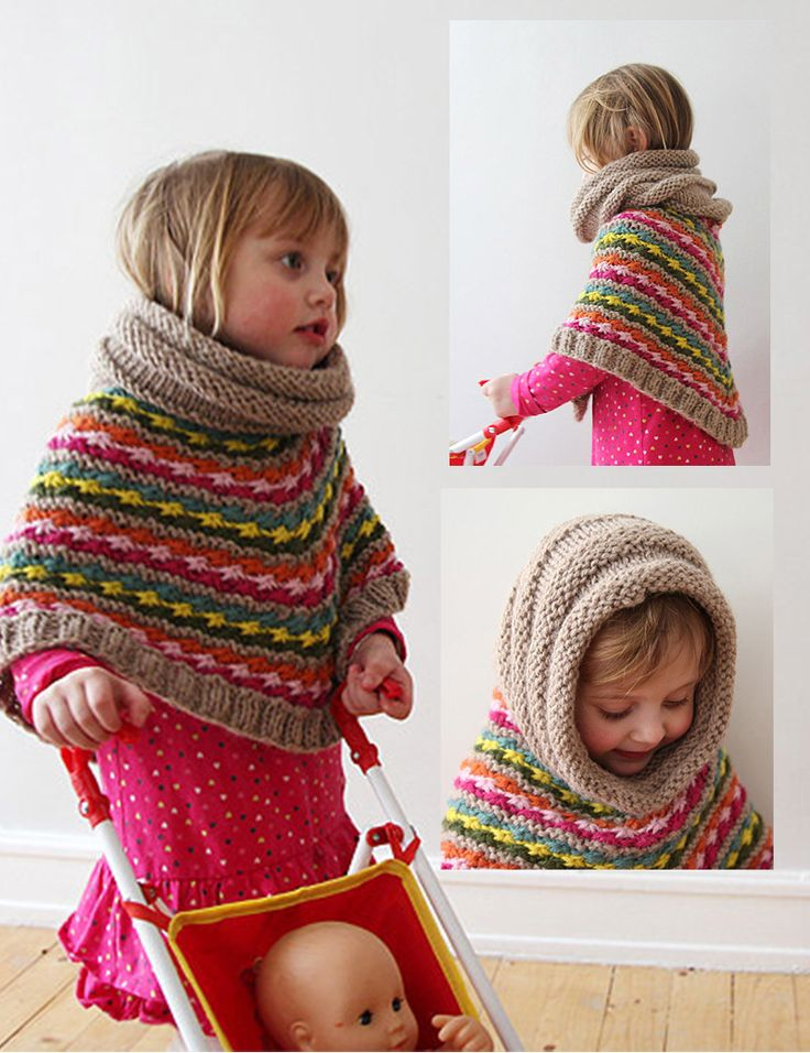 I wonder if the hood on the poncho would be too bulky - but think the idea is great!
