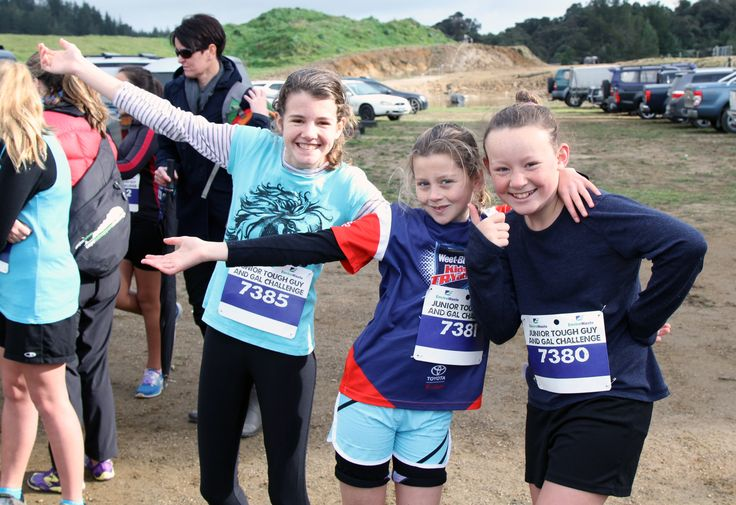 ACG Tauranga students taking part in the Rotorua Junior Tough Guy and Gal Challenge