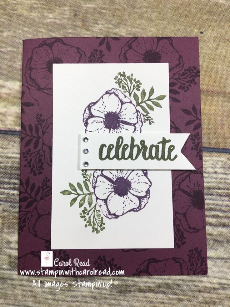 Celebrate - Stampin' Up! Amazing You stamp set