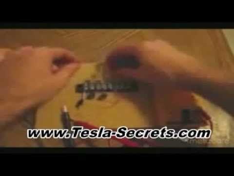 ニコラ・テスラのフリーエネルギー発電機の作り方