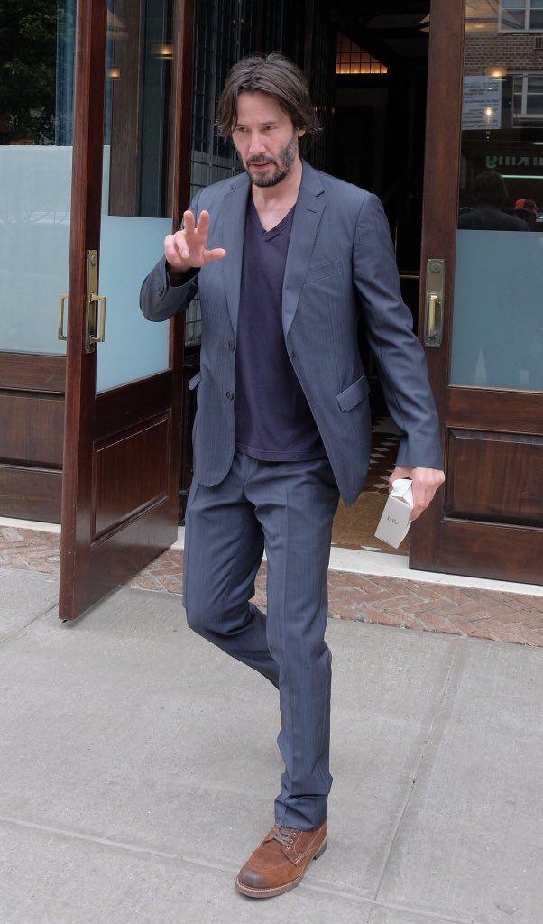 Keanu Reeves NY city June2017