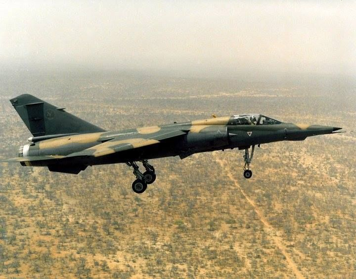 1 Squadron,  Mirage F1AZ, South African Air Force.