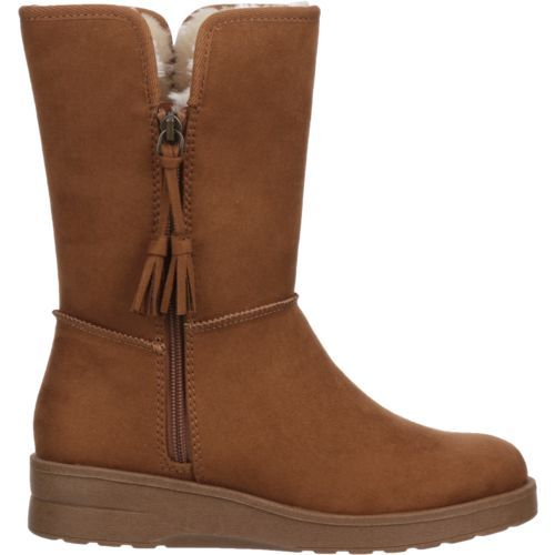 Magellan Outdoors Women's Side-Zip Boots (Brown/Brown, Size 10) - Winter Boots at Academy Sports
