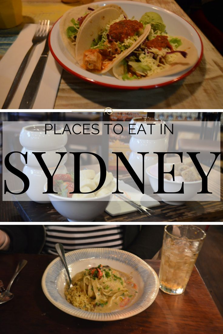 Places to eat in Sydney on a budget #travel
