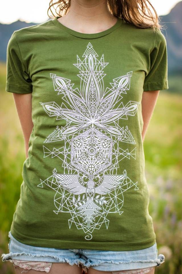 Bliss t-shirt Women's by TheUniversalBeat on Etsy https://www.etsy.com/listing/240038538/cannabis-t-shirtorganic-usa-made-weed-t