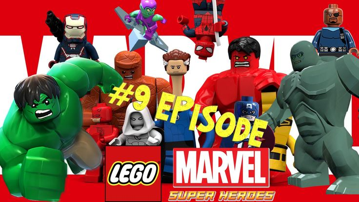 Lego Marvel 9 - New York Part 4 - Doctor in the House Games Full Movie