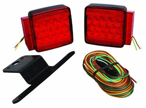 "Wesbar 287512 Submersible LED Trailer Light Kit - Under 80"" Wide Trailer"