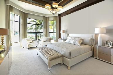 Which is Better for Bedrooms: Carpet or Hardwood?: Carpet helps make a bedroom feel more like a luxurious retreat.